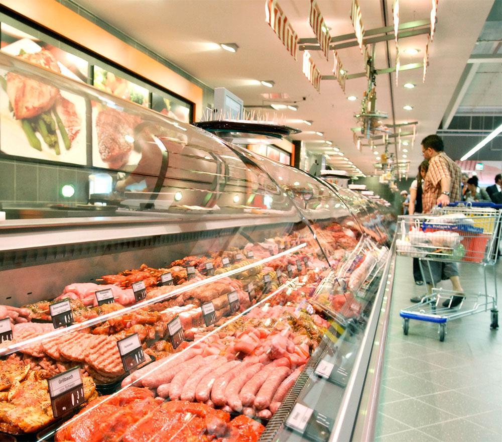Kühltheken für Supermärkte, Tankstellen und Restaurants | KKL Klimatechnik